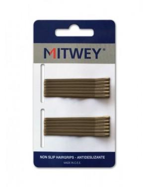 12 Clip Bronce Liso 50mm Antideslizante Mitwey
