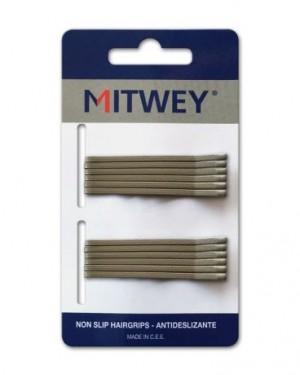 12 Clip Mitwey Rubio Liso 50mm Antideslizante