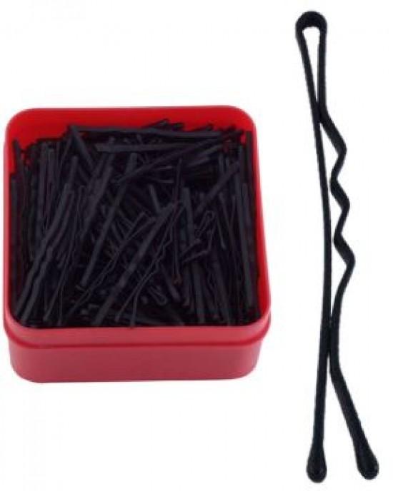 300 Clips Negro Rizado 50mm Mitwey Reina Navidades para los peques