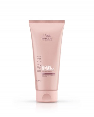 Acondicionador Blonde Recharge Cool Invigo 200ml Wella