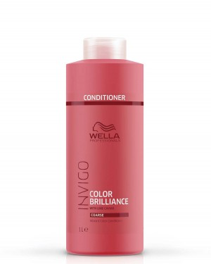 Acondicionador Color Brilliance Cabellos Gruesos Invigo 1000ml Wella + 1 Consejo