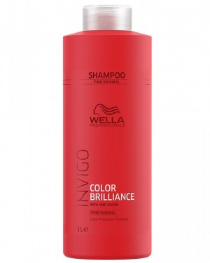 Acondicionador Brilliance Cabellos Finos Invigo 1000ml Wella