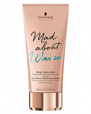 Bálsamo Texturizante Mad About Waves Windy Texture 150ml Schwarzkopf