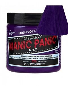 Tinte Fantasía Semipermanente Violet Night Manic Panic + 1 Consejo