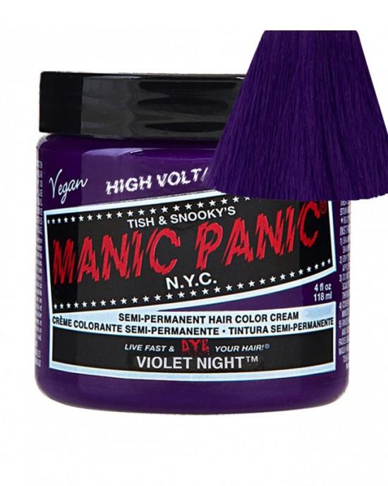 Tinte Fantasía Semipermanente Violet Night Manic Panic
