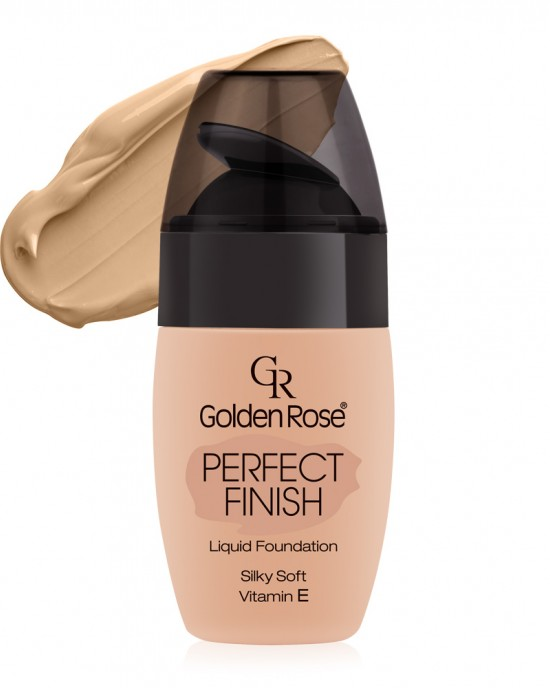 Base Maquillaje Perfect Finish 51 Liquid Foundation Golden Rose