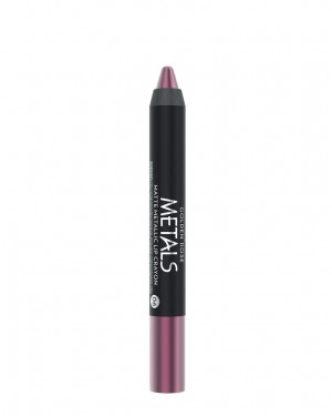 Barra de labios Metals 06 Matte Metallic Crayon Golden Rose