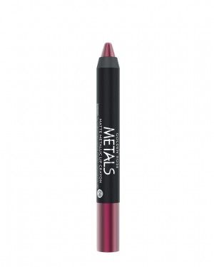 Barra de Labios Metals 08 Matte Metallic Crayon Golden Rose