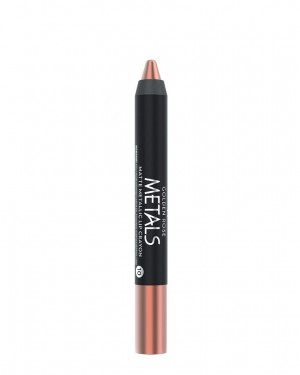 Barra de Labios Metals 10 Matte Metallic Crayon Golden Rose