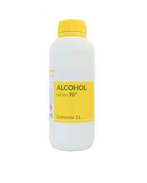 ALCOHOL LOCIÓN 96º GUINAMA 1L