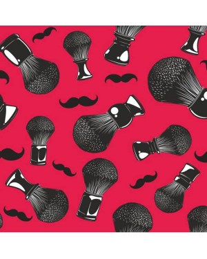 Capa Peinador Barber Mustache 120x160