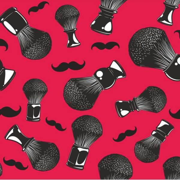 Capa Peinador Barber Mustache 120x160 + 1 Consejo