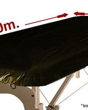 Cubrecamilla Negro 1uds 95x220 Gomas Alba