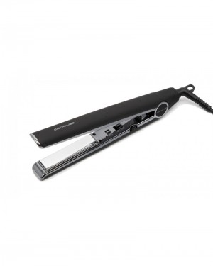 Plancha C1 Dark Collection Black Soft Touch Silver Corioliss
