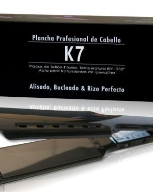 Plancha K7 Negra Irene Rios  + 1 Consejo