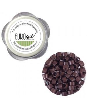 Anillas Extensiones Burdeos 100und Eurostil + 1 Consejo