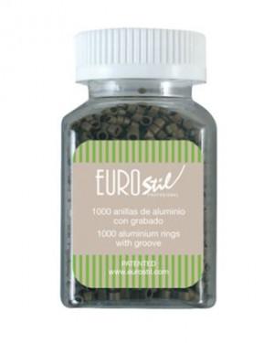 Anillas Extensiones Rubio Oscuro1000und Eurostil + 1 Consejo
