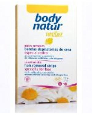 Bandas Faciales depilar Body Natur + 1 Consejo