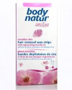 Bandas cera depilar Rosa Mosqueta Body Natur