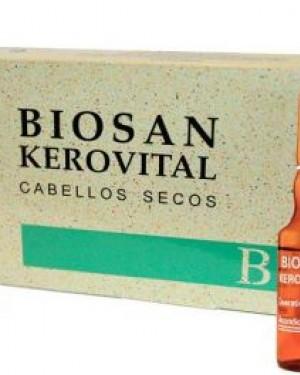 Caja Biosan Kerovital 8 ampollas Liheto + 1 Consejo