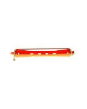12 unidades Bigudie Bicolor 95mm Rojo-Amarillo 903 Eurostil + 1 Consejo