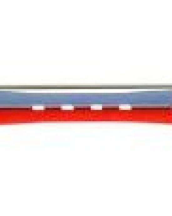 12 unidades Bigudie Bicolor 95mm Rojo-Azul 904 Eurostil Industrias Oriol Bigudies