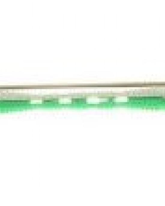 12 unidades Bigudie Bicolor 95mm Verde Blanco 900 Eurostil Industrias Oriol Bigudies