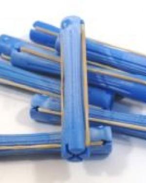 20 und Bigudie Plastico Color Azul Eurostil + 1 Consejo