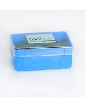 Caja 300 Clip Negro 50mm Mate Eurostil