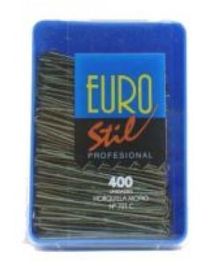 Caja Horquillas Moño Bronce 400und Eurostil + 1 Consejo