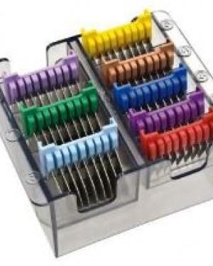 Caja Peines Metalicos 8 unidades Wahl + 1 Consejo