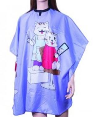 Capa corte Infantil nylon Violeta Eurostil