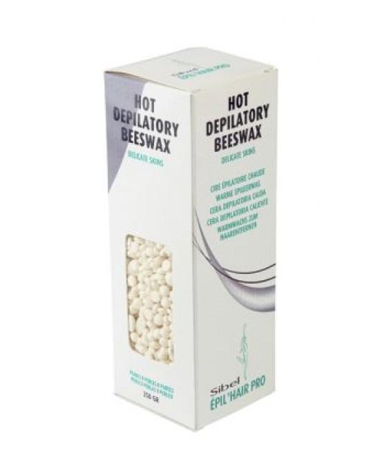 Cera caliente perlas crema 250gr Sibel Sinelco Desechables Estetica