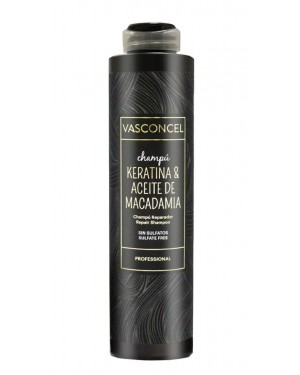 Champu reparador Macadamia y Keratina 500ml Vasconcel