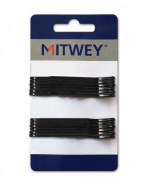 Clip Negro Liso 70mm Mitwey + 1 Consejo