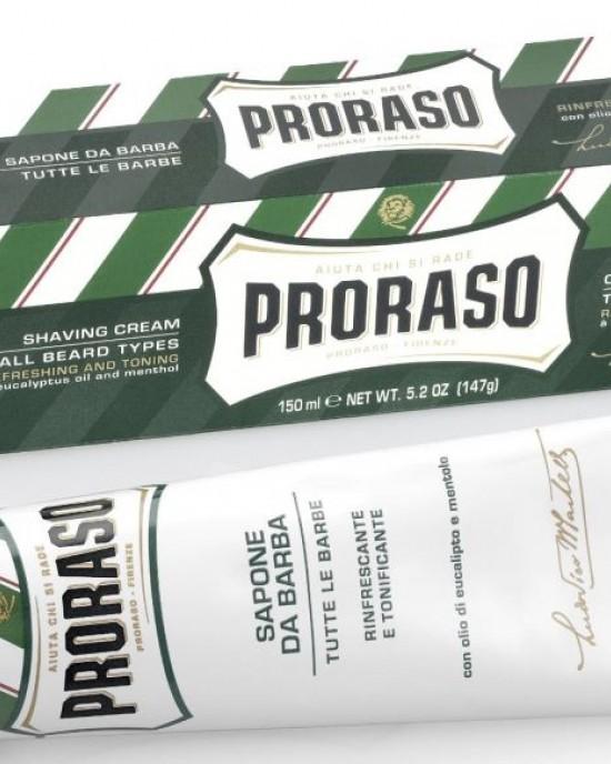 Crema Afeitar 150ml Eucalipto Proraso Proraso Productos para Hombres