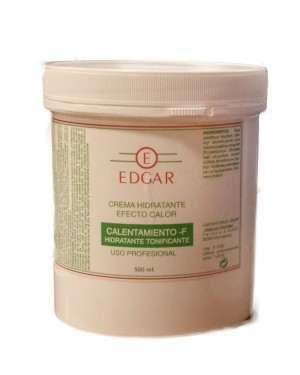 Crema Calor 500ml Tonificante Edgar + 1 Consejo
