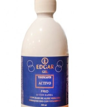 Gel Frio Tonificante 500ml Edgar