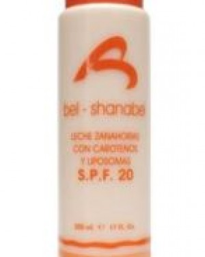 Bel Shanabel Leche Zanahorias SPF20 500ml + 1 Consejo