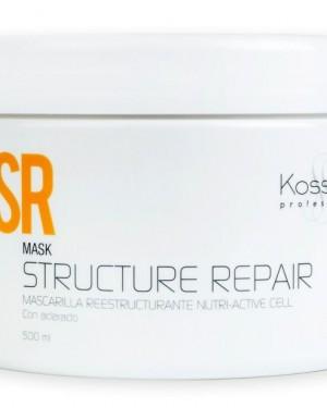 Mascarilla Cabellos secos Repair 450ml Kosswell + 1 Consejo