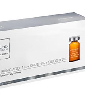 Ampollas Hyaluronic 1% + Dmae 1% + Silicio 0,5% 5 Unidades InLabMed