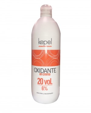 Oxigenada crema  20vol. 1000ml Kepel