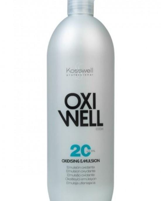 Oxigenada crema 20 volumenes 1000ml Kosswell Kosswell Oxigenadas-Reveladores