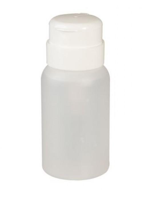 Recipiente Acrilico para quitaesmalte con Dosificador Sinelco Utiles Manicura y Pedicura