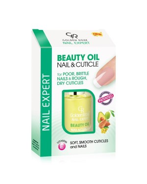 Tratamiento Beauty Oil Nail&Cuticle Nail Expert 11ml Golden Rose