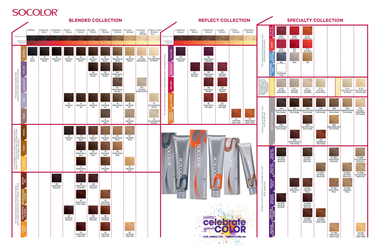 Matrix Color Chart Online Matrix Socolor Color Chart Matrix